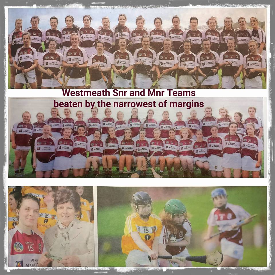 Westmeath Camogie Snr Mnr Teams WExaminer Photos