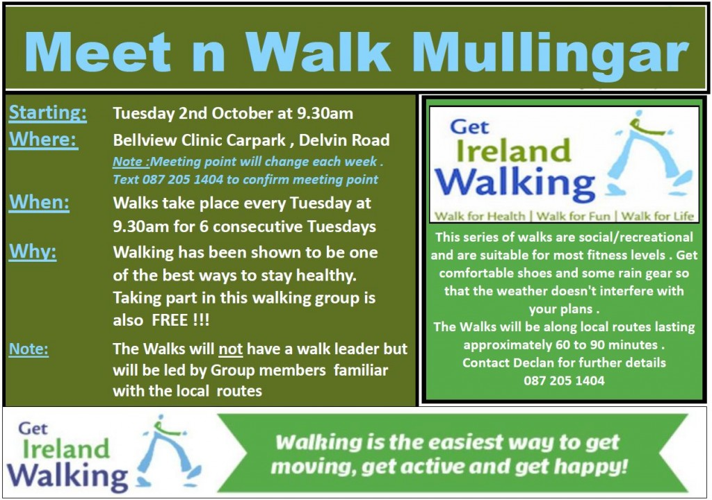 Meet n Walk Mullingar
