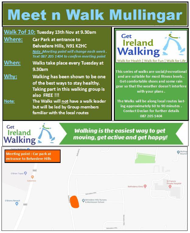 Meet n Walk Week 7 of 10