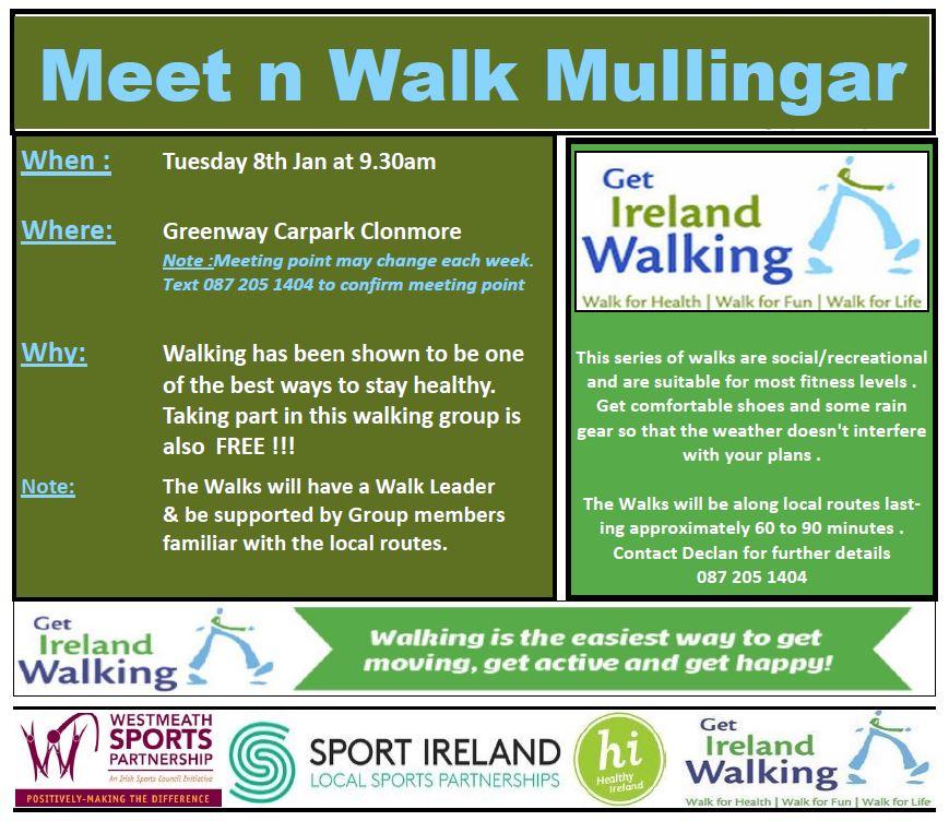 Meet n Walk Mullingar