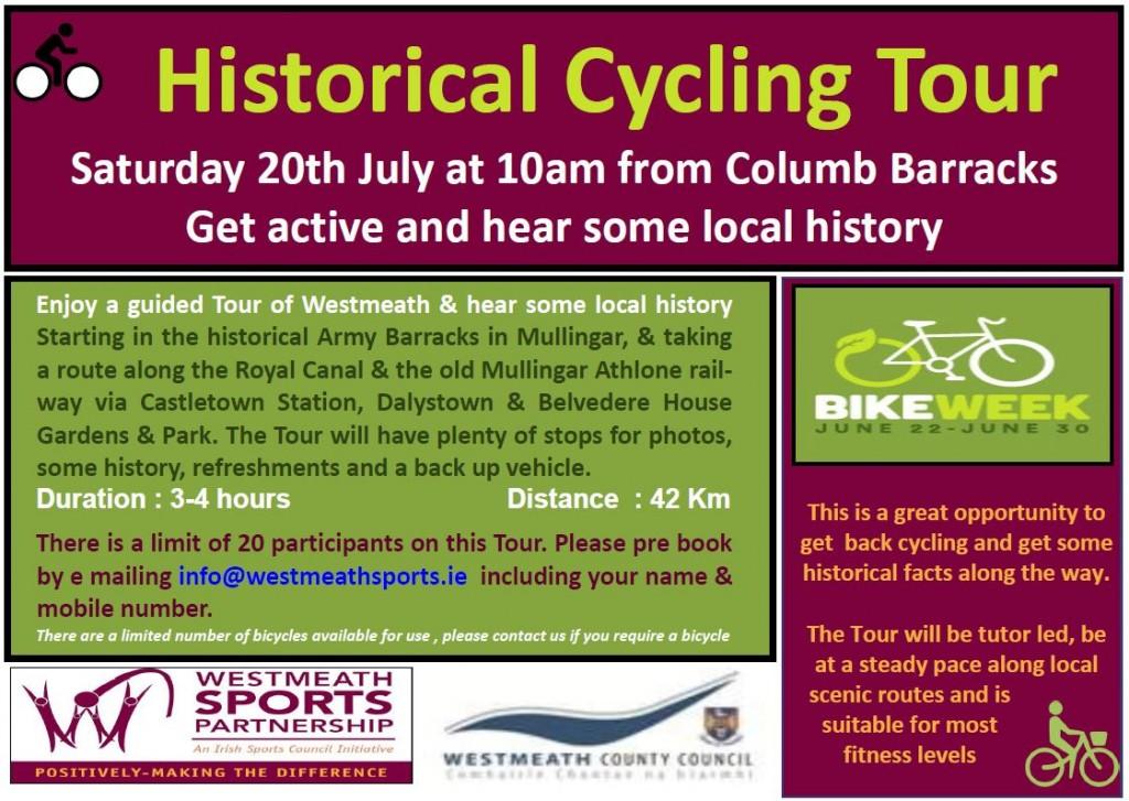 Historical Cycling Tour Bike Week 2019