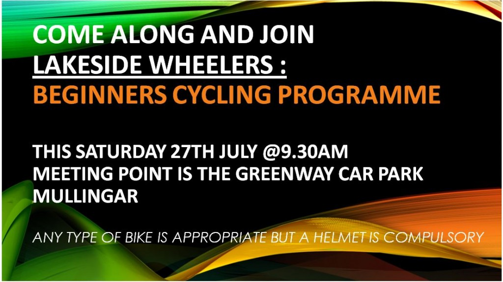 LSW Beginners Cycling Prog July 2019