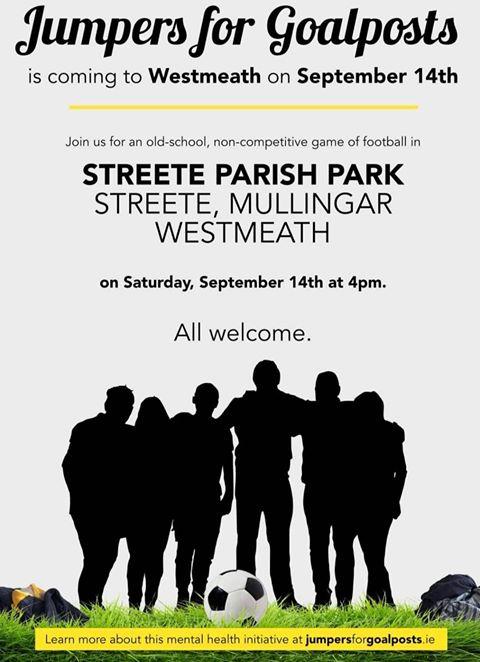 Jumpers for Goalposts Streete Parish