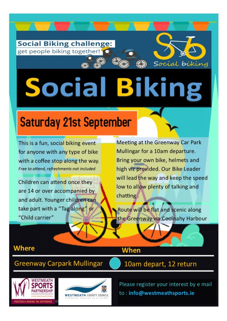Social Cycling Flyer